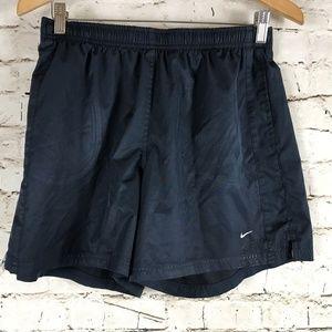 Vintage Nike Running Shorts Size M (8-10) Blue